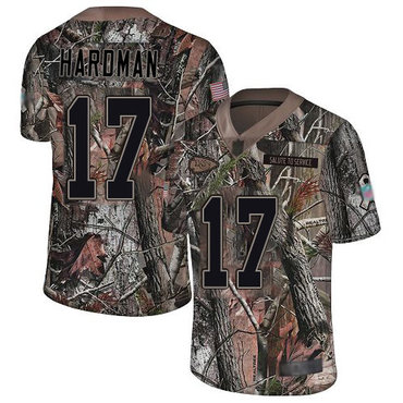 Chiefs #17 Mecole Hardman Camo Men's Stitched Football Limited Rush Realtree Jersey
